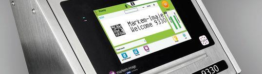Markem-Imaje 9330: нов мастиленоструен принтер с тъчскрийн и система за самопочистване