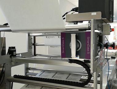 Едноредови траверсиращи системи за термотрансферни принтери
