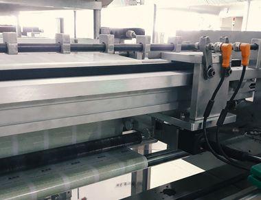Едноосова траверсираща система за continuous пакетиращи машини